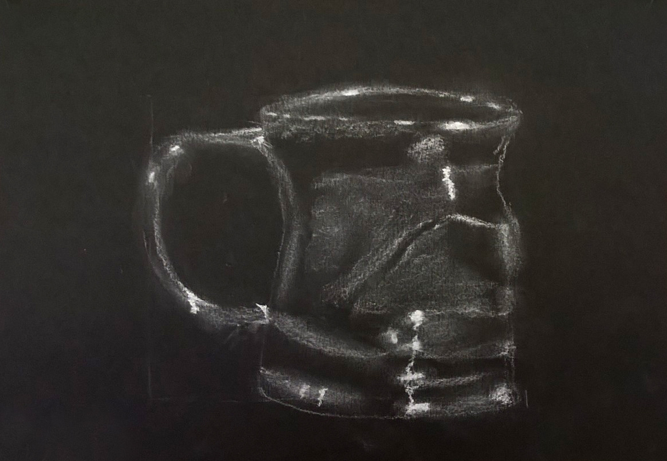 Cours de dessin peinture initiation atelier chromatic - Dessin fond noir ...