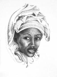 Visage d afrique
