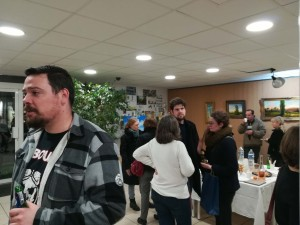 Vernissage expo Marc Laisne - Atelier Chromatic 1