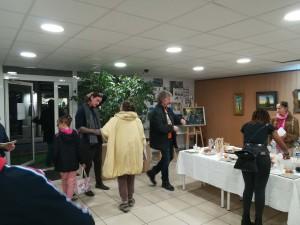 Vernissage expo Marc Laisne - Atelier Chromatic 7