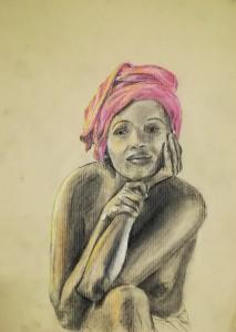 Femme africaine 08