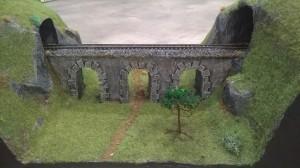 Pont dans les montagnes