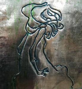 Gravure sur Aluminium 12