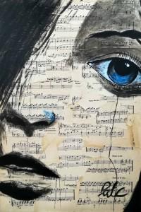 L oeil bleu