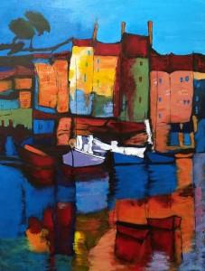 Village et bateaux