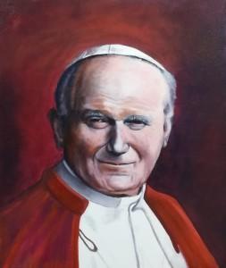 Visage N°231 Jean Paul II