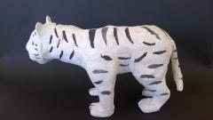 Tigre blanc (profil)