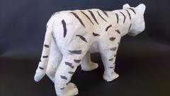 Tigre blanc (3/4 dos)
