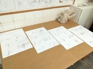 Exposition-2017-2018-Atelier Chromatic-Cours-de-Bande-dessinee-Manga-03