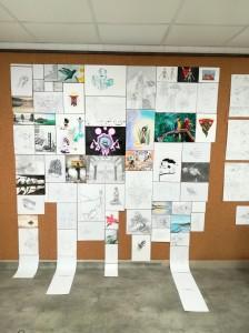 Exposition-2017-2018-Atelier Chromatic-Cours-de-Graphisme-et-Arts-appliques-02