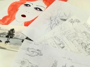 Exposition-2017-2018-Atelier Chromatic-cours-art-plastique-art-applique-01