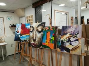 Exposition-2017-2018-Atelier Chromatic-cours-de-dessin-peinture-initiation-01